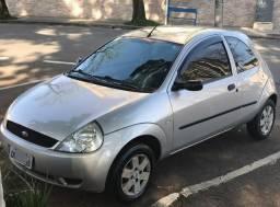 Ka 1.0 Gasolina Zetec Rocam 2004 /04 Prata 68.000 Km Original