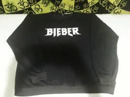 Moletom Justin Bieber Purpose Preto