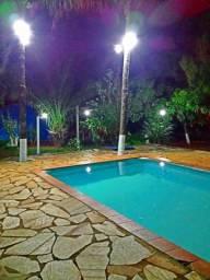 Chácara para o carnaval e outras datas com piscina campo e dormitórios