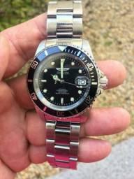 3e4b4d512cc Relógio invicta automático original vidro de safira  450