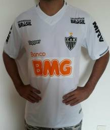 Camisa Atlético Com patrocínio novo BMG 3dd1b125ded10
