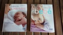 Livro a bíblia do bebê e a bíblia da gravidez