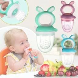 Der frutas, legumes, carnes e até papinha ao seu bebê sem correr o risco dele se engasgar