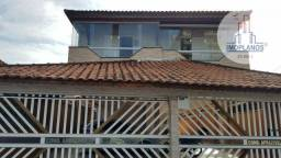 Sobrado com 2 dormitórios à venda, 60 m² por R$ 200.000,00 - Aviação - Praia Grande/SP