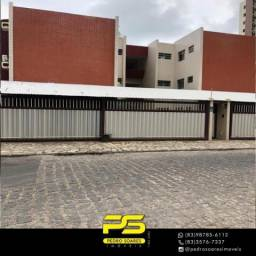 Flat com 2 dormitórios à venda, 46 m² por R$ 350.000 - Cabo Branco - João Pessoa/PB