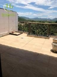 Cobertura com 1 dormitório à venda, 60 m² por R$ 370.000,00 - Camboinhas - Niterói/RJ