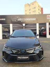 Toyota Corolla 1.8 Altis Premium Hybrid 2019/2020 Flex Aut.Preto