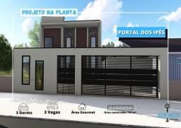 Projeto Sobrado com 3 dormitórios no Portal dos Ipes em Cajamar