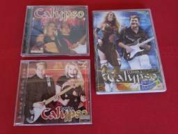 Vendo para coleção 2 CD e um DVD original  $30 reais
