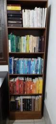 Livros de teologia, espiritualidade, filosofia, história, sociologia, literatura etc
