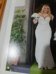 Vestido de noiva italiano