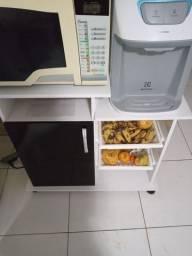 Balcão para microondas e gela água