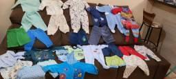 Lote de roupinhas bebê masculino - 50 peças