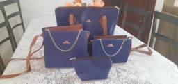 Bolsas kit com 4 lindas bolsas