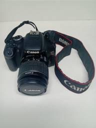 Câmera Canon T3i ótimo estado de conservação (parcelo no cartão)