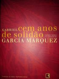 Livro Gabriel cem anos de solidão. Prêmio Nobel de literatura.