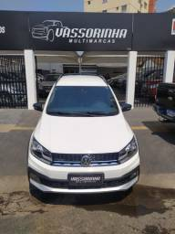 Vw. Saveiro Cab.Dupla. Cross 1.6 ,Manual, Flex , Branco