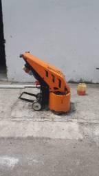 Máquina de polir piso em alta resistência tipo turbo