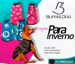 Roupas para cães e gatos   Pós cirúrgicas e inverno