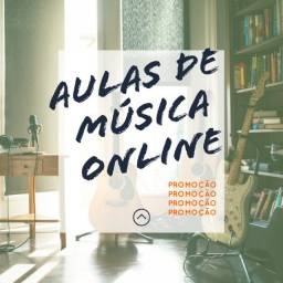Aulas Online de Violão, Teclado, Guitarra, Ukulele e Contra-Baixo