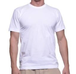 Camiseta para sublimação | Malha 100% Poliéster Anti pilling