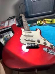 Guitarra strato memphis MG-32 com captadores malagoli custom