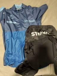Roupa para ciclismo profissional nova