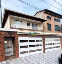 Casa com 2 dormitórios à venda por R$ 245.000 - Caiçara - Praia Grande/SP