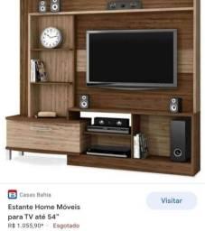 Estante home theater para tv até 55 polegadas