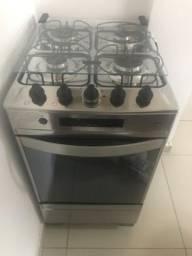 fogão brastemp ative timer grill inox