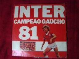 Lp Vinil - Inter Campeão Gaúcho 1981 - Rádio Gaúcha