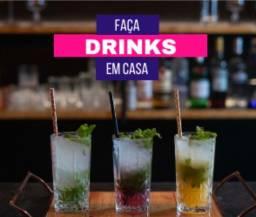 R$ 49, -  Faça Drinks em Casa