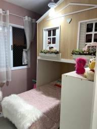 Casinha planejada para quarto infantil