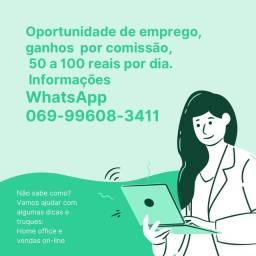Home office vendas on-line