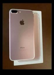 Iphone 7 Plus Rose 128GB COM CAIXA