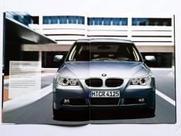 BMW Série 5 E60 - 530i - Catálogo, Folder, Brochura Completo