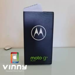 Moto G9 play 64gb verde Turquesa Zero lacrado