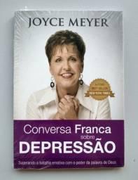 Livro Novo Joyce Meyer Conversa Franca Sobre Depressão Pocket