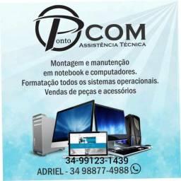 Formatação de computadores e notbook.