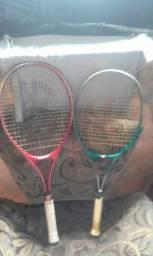 Vendo um par de raquete