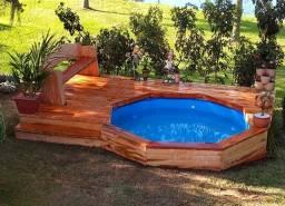 Deck para piscina
