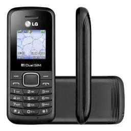 Telefone LG B220 Dual SIM 32 MB Preto 32 MB Rural  - Loja Natan Abreu