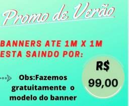 Banners até 1metrox1metro