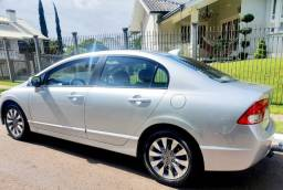 """Honda Civic 2011 """"Novo"""" Aut,Couro,Central Multimídia,Borboleta,Ipva21 Pg"""