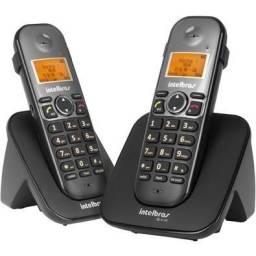 Telefone Intelbras Com Ramal Ts 5122 / Sem fio / Preto / Digital - Novo