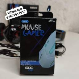 Mouse Gamer Óptico USB 2.0 Design Ergonômico 1600 DPI - Kp-v40<br>