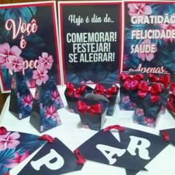 Kit personalizado floral