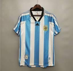 Camisa Argentina 1998 Retrô
