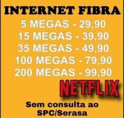 Internet fibra net wifi ótica