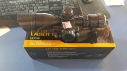 Luneta com laser 2.5,10x40